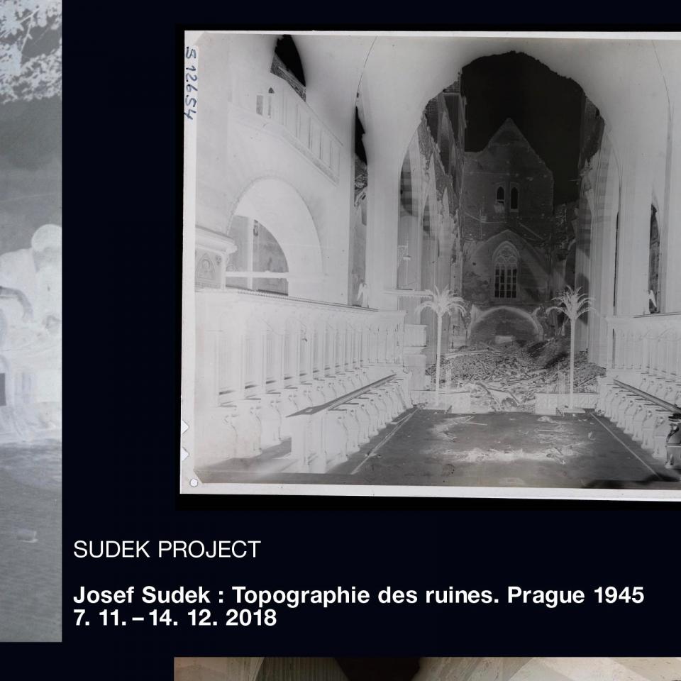 Josef Sudek: Topografie sutin. Praha 1945 (Paříž)