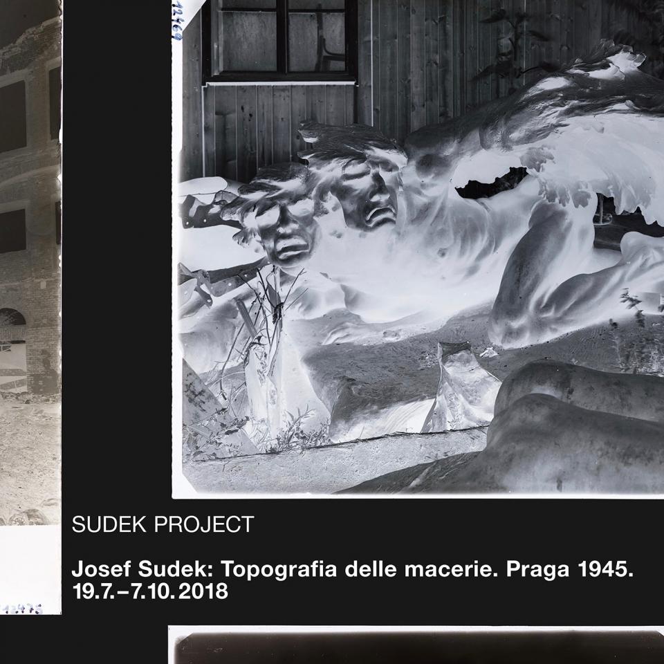 Josef Sudek: Topografie sutin. Praha 1945 (Řím)