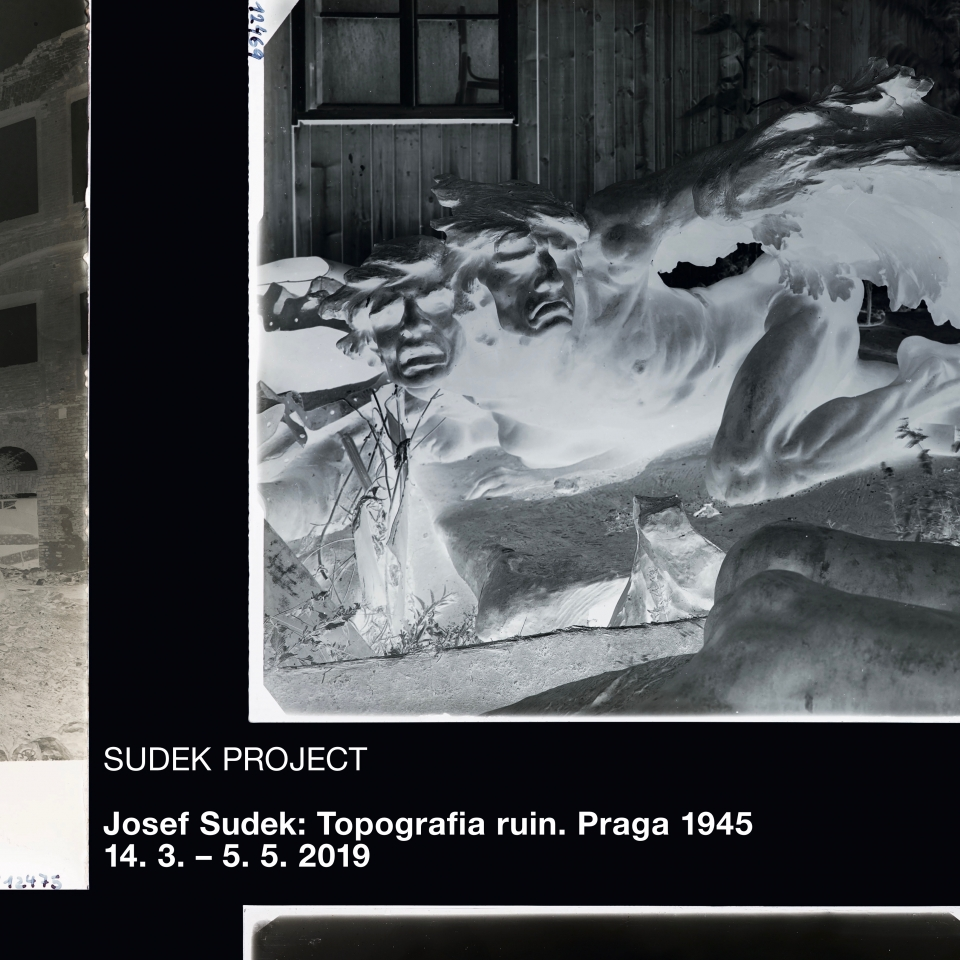 Josef Sudek: Topografie sutin. Praha 1945 (Wrocław)