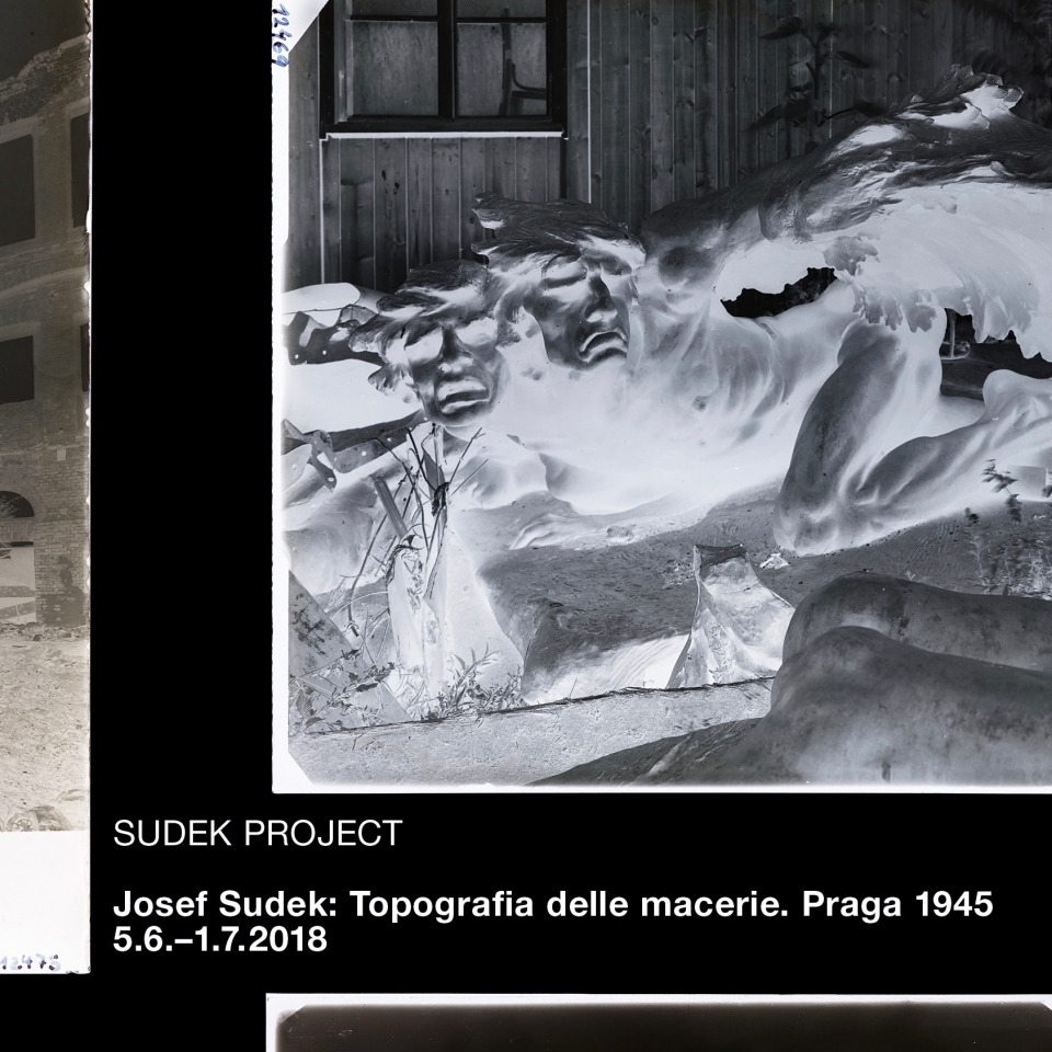 Josef Sudek: Topografie sutin. Praha 1945 (Milano)